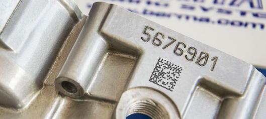 Beispielbild eines gelasteren DPM Code